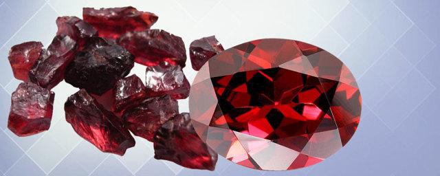 Камень гранат: магические свойства альмандина