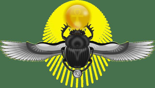 Жук скарабей: талисман и его значение для обретения защиты