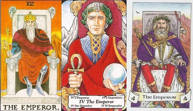 Император в сочетании с другими картами Таро: значение