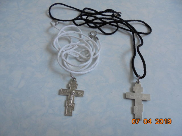 Православные нательные крестики: материалы, виды, формы