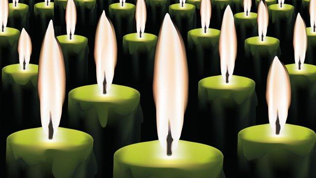 Заговор на зеленую свечу: читать на любовь и деньги