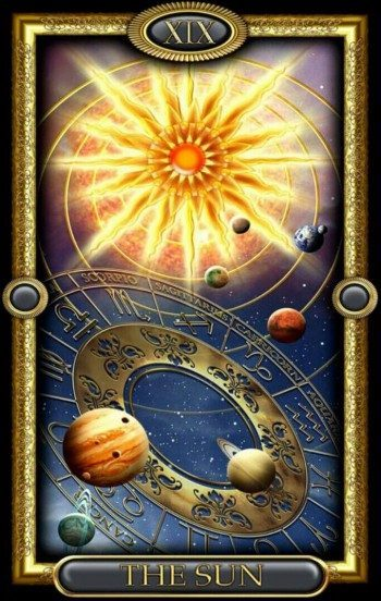 Солнце в сочетании с другими картами Таро: значение в любви