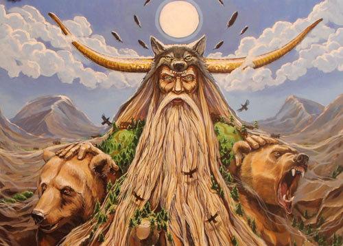 Оберег Велеса: значение символа славянского божества