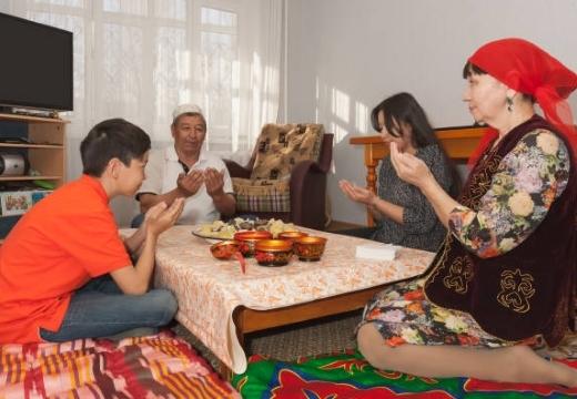 Дуа перед едой и после еды: читать на арабском