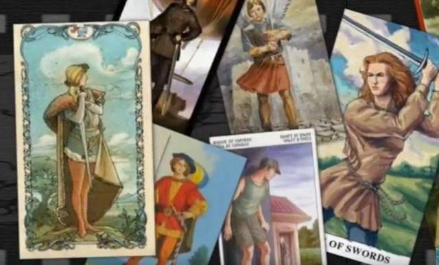 Паж мечей в сочетании с другими картами Таро: значение