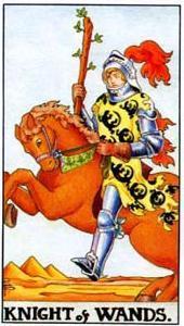 Рыцарь Жезлов в сочетании с другими картами Таро: расшифровка