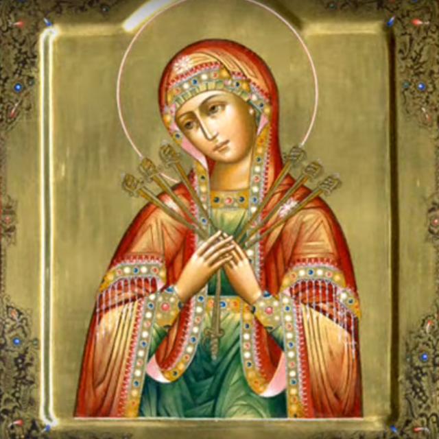 Молитва Семистрельной о защите от порчи и от проклятия