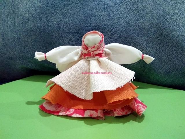 Кукла оберег Колокольчик своими руками: мастер-класс