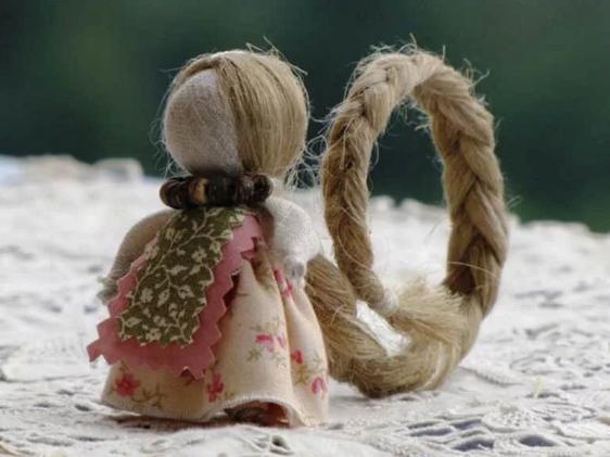 Кукла оберег на счастье: мастер класс своими руками